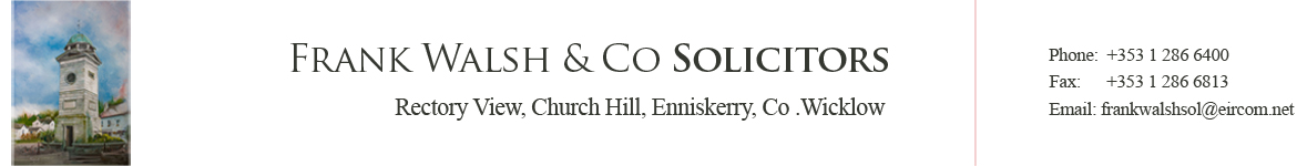 Frank Walsh & Co Solicitors